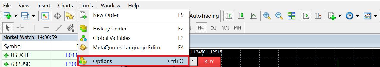 Meta Trader 4 Options